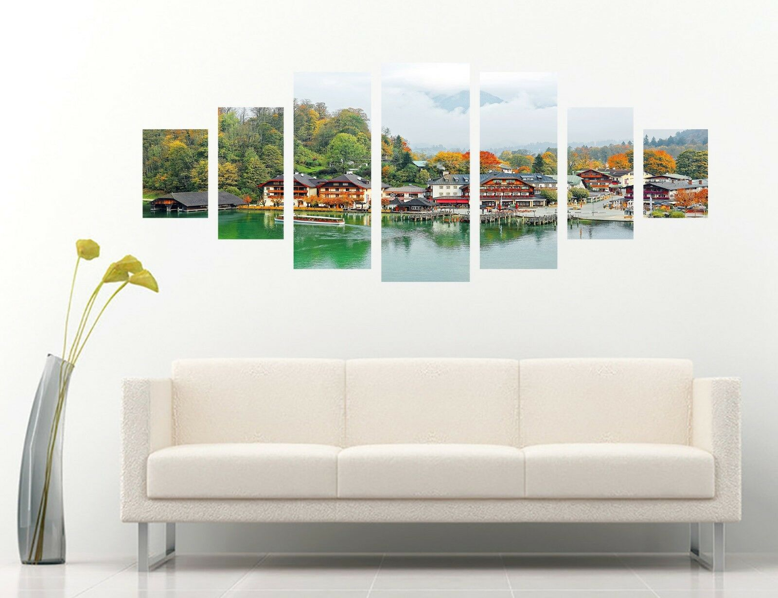 3D House Arbour 123 Unframed Print Wall Paper Deco Indoor AJ Summer