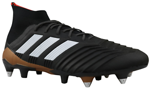 Details about Adidas Predator 18.1 SG Football Boots Black Cleats CP9260 Size 42 46 NEW show original title
