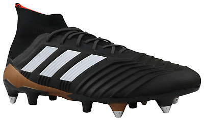 Adidas Predator 18.1 SG Football Boots Black Cleats CP9260 Size 42 46 NEW | eBay