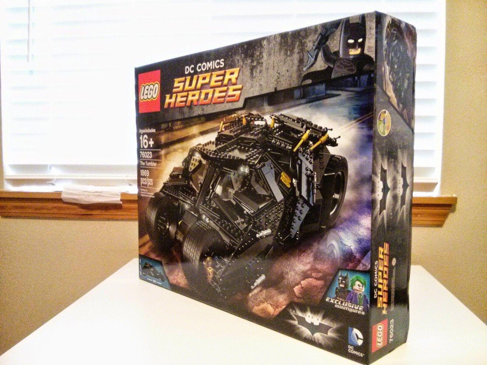 LEGO Batman Batman Batman The Tumbler 76023 DC Comics New Factory Sealed Joker Dark Knight b22a79