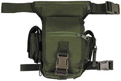 US Outdoor Hip Bag mit Bein- und Gürtelbefestigung Army Military oliv green
