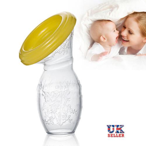 Stillen Handmilchpumpe Silikon Baby Milch Saver Saug BPA frei Milchpumpe Handpum