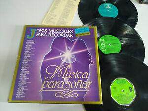 """Schmuck Notenschlüssel Für Recordar Albanien Edith Piaf - Triple LP Vinyl 12 """""""