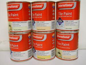 International Tile Paint White Design Ideas