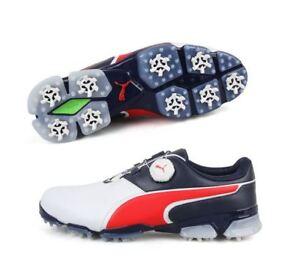 hieno tyyli verkossa myytävänä tilata netistä Details about Puma TITANTOUR IGNITE DISC JP Golf Shoes (189413 08) Field  Spike Boots Cleats