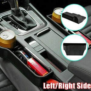 2-x-Autositz-Luecke-Aufbewahrungsbox-Muenze-Organizer-Ablagefach-Getraenkehalter