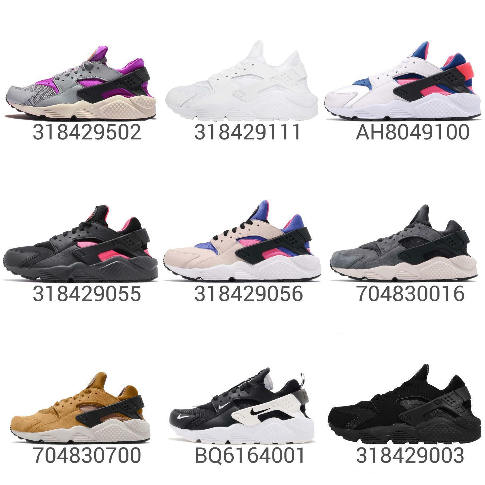 Nike Air Huarache   Run Mens Classic Running shoes Sneakers Slip-On Pick 1