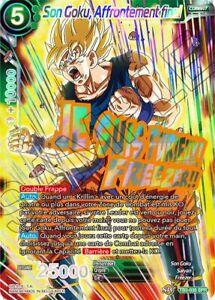 NM Dragon Ball Super Affrontement final Foil TB3-002 Freezer Français