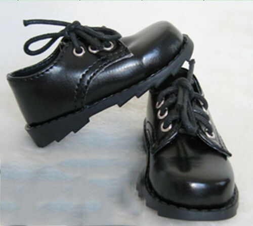 Mimi Collection MSD Doc 1//4 BJD Obitsu Boy Girl Doll Black Leather shoes