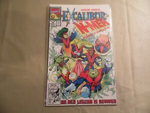 Excalibur-45-Marvel-1991-Free-Domestic-Shipping