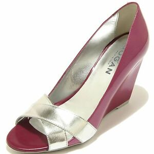 7009F decollete spuntata donna HOGAN zeppa h 227 fasce incrociate shoes women