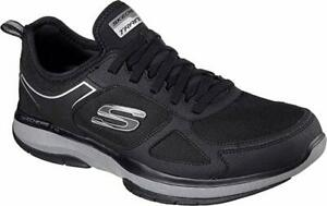 Skechers-Burst-Men-039-s-Athletic-Shoes-Black-or-Navy-Choose-Size-amp-Color