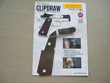 ClipDraw Concealed Carry IWB Belt Clip Holster For Compact 1911