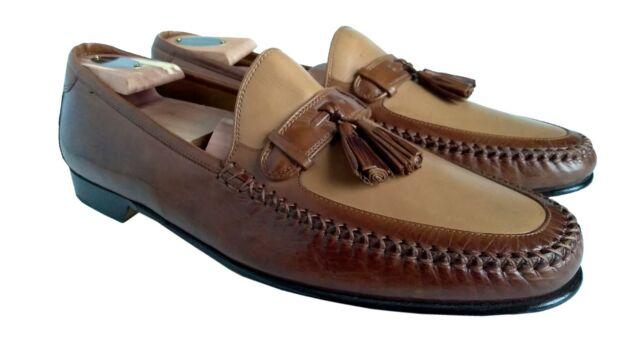 209781 MS50 Men/'s Shoes Size 12 M Black Leather Slip On Johnston /& Murphy