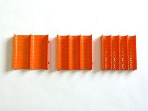 Muldenteile orange - Schubladeneinsatz - Einteilungsmaterial - Kompaktmulden