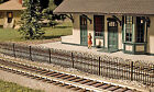 Atlas HO Scale Scenery Structure Kit - Hairpin Fence