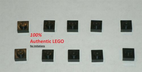 LEGO NEW 1x1 Black Plate 302426 Brick 3024 10x