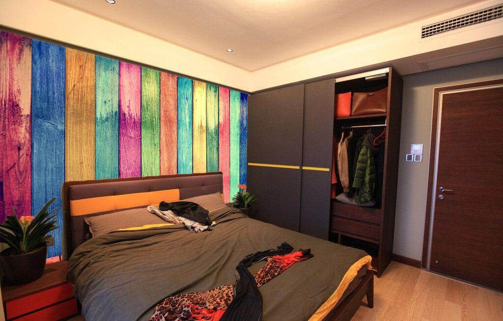 3D 3D 3D Color Vertical Lines Board 1 Wall Paper Wall Print Decal Wall AJ WALLPAPER CA f9fc4d