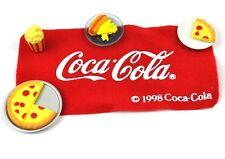 Coca-Cola Coke EE.UU. Miniatura Picnic Set para Muñecas Casa de muñecas - Pizza