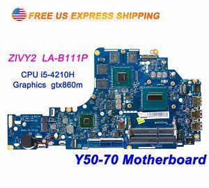 Lenovo-Y50-70-ZIVY2-LA-B111P-w-Intel-i5-4210H-2-9GHz-CPU-GTX860m-Motherboard