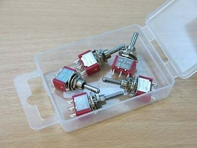 2K280 5 x Mini SPDT Biased Switches Ideal for Peco Hornby Point Motors 1st Class