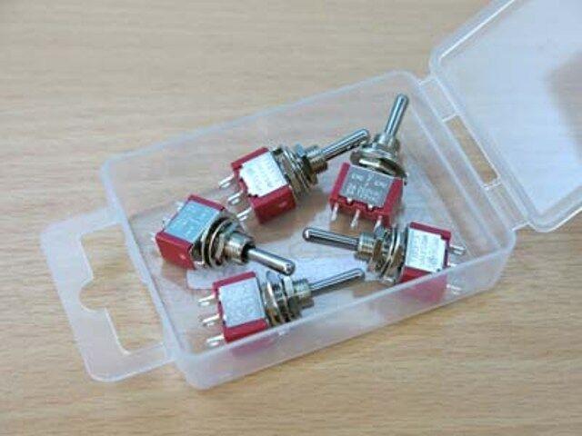 Expo A28015 Sub Miniature SPDT Biased Switch X4   eBay