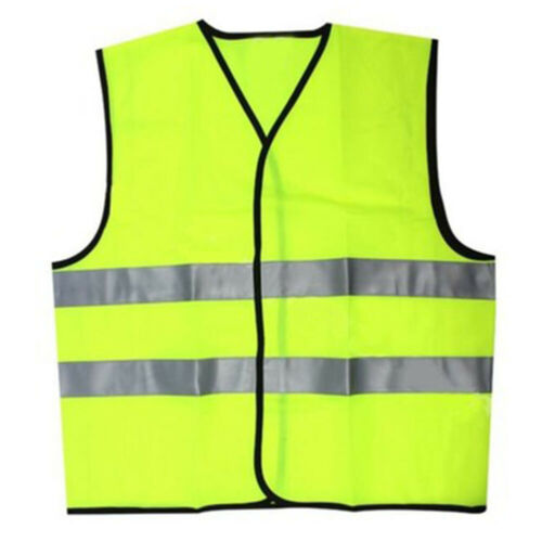 Details about  /High Visibility Safety Vest Breathable High Visibility Reflective Costume Kit