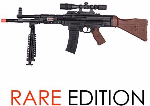 Toy Gun Airsoft Spring Rifle Scope Bipod German WWII Gun P2303