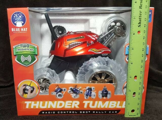 Blue Hat R//C Thunder Tumbler Rally Car One Size Red by Blue Hat