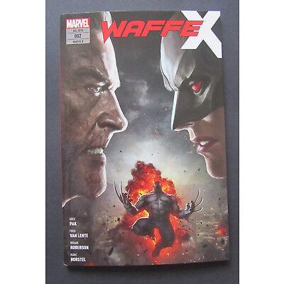 Marvel Waffe X  Die perfekte Waffe Juli 2018    ungelesen, 1A Top Zustand