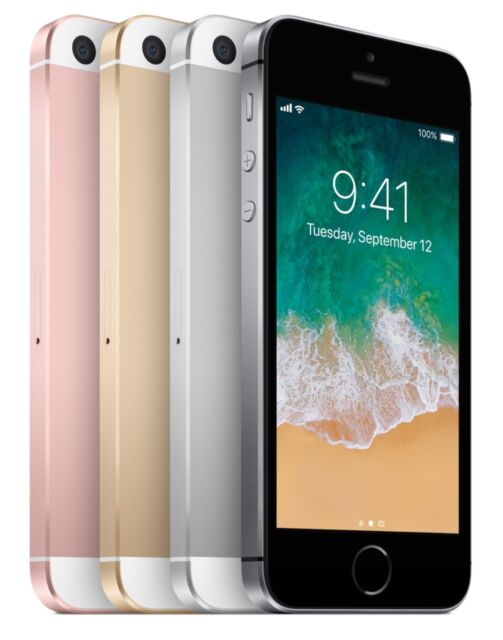 Apple iPhone SE Unlocked for GSM Carriers - Refurb (all Sizes/Colors)
