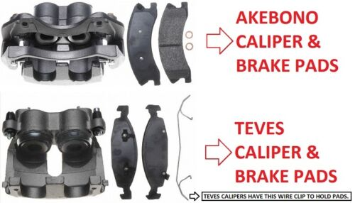 2 x Front Brake Caliper for Jeep Grand Cherokee WJ 1999-2002 TEVES BBC//WJ//017A