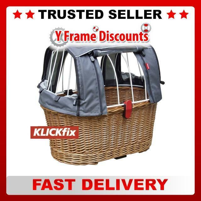 Rixen & Kaul Bike Cycle Doggy Pet Basket Plus GTA with KG804 Adapter