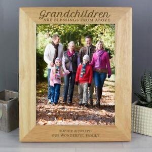 Personalised Grandchildren Photo Picture Frame Grandkids Grandchild Gift.
