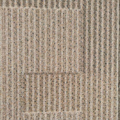 50M2 Milliken Cream Beige Carpet Tiles Ideal For Garages Sheds ETC