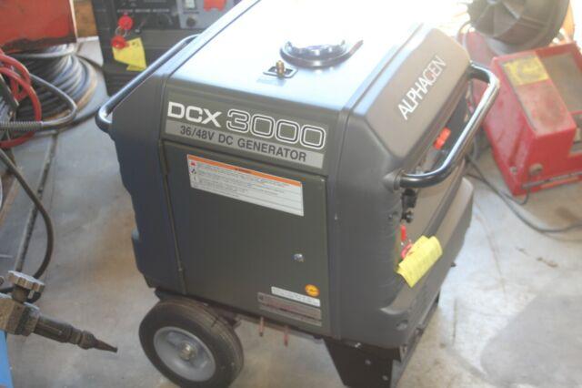 Alpha Gen Dcx3000 36v 48v Dc Generator Very Low Hrs For Sale Online Ebay