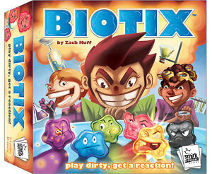 BIOTIX Board Game Smirk Dagger Games SND 0063 Microbes Biology