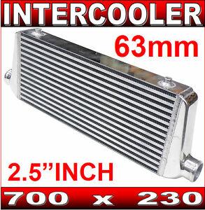 Image Is Loading Intercooler 700 X 230 Aluminium Bar Amp Plate