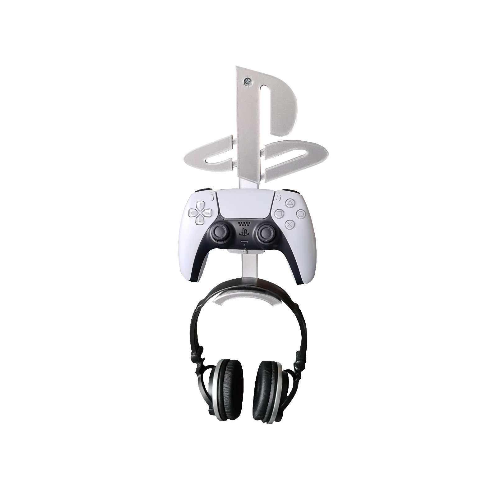 Playstation 5 Headphones & Controller Wall Mount Logo