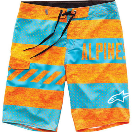 Orange Alpinestars Insignia Boardshorts 32