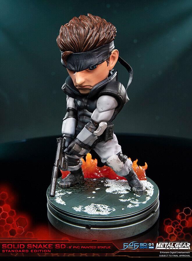 Solid Snake Metal Gear Solid Deformed cifra FIRST4cifraS