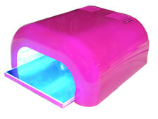 CLEARANCE STOCK 36W UV HOT PINK NAIL LAMP 4 x 9W CE APPROVED