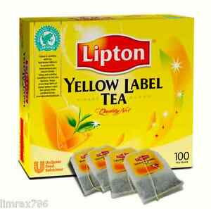 Image Is Loading Lipton Yellow Label Tea International Blend 100 039