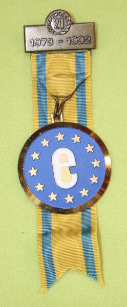 Bien éDuqué Médaille De Marche – Europe 20 Ans - 1973-1992 Emballage De Marque NomméE