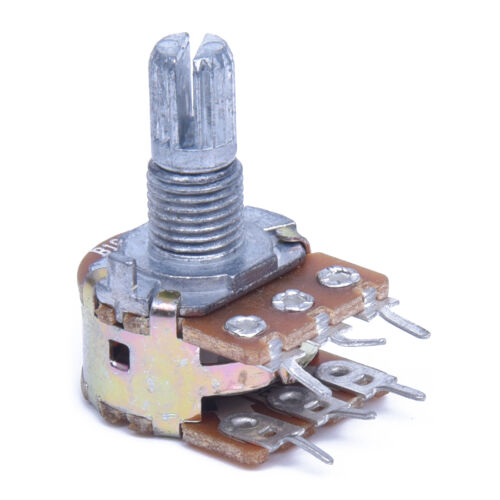 B10K Dual Stereo Potentiometer mit 15 mm Teilen Wellen