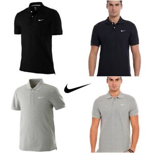 Nike-Polo-Shirt-Classic-SS-Pique-Casual-Mens-T-Shirt-Top-S-M-L-XL