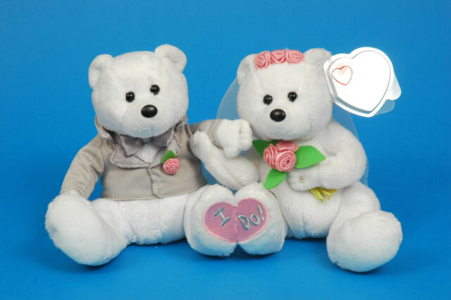 TY Beanie Baby (RARE) Wedding Couple  We ... 4b921a4718b