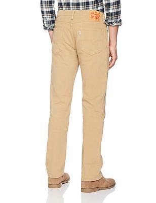 Levis Jeans Para Hombre 511 Slim Fit Stretch Chino Pantalones Beige Cosecha de Oro | eBay