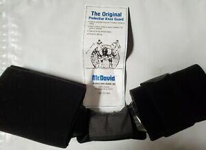 MCDAVID Protective Knee Guard Football Hockey Skiing Sports Black 2XL-Tall M202T