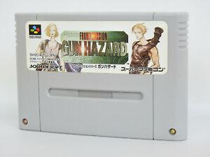 Super-Famicom-FRONT-MISSION-Gun-Hazard-Cartridge-Only-Nintendo-sfc